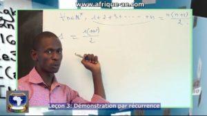 Demonstration par recurrence