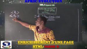 Enrichissement d'une page html partie ii