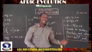Equations differentielles partie iv