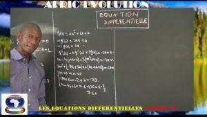 Equations differentielles partie vi