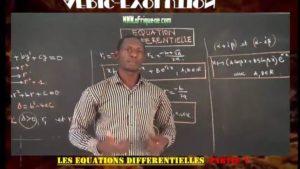 Equations differentielles partie v