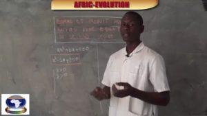 Equation du second degre partie ii