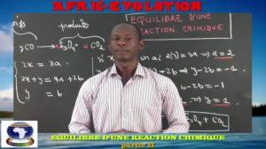 Equilibre d'une reaction chimique partie ii