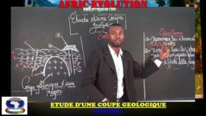 Etude d'une coupe geologique partie i