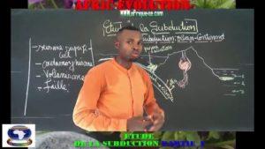 Etude de la subduction partie i