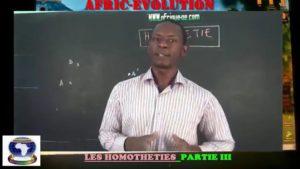 Homothetie partie iii