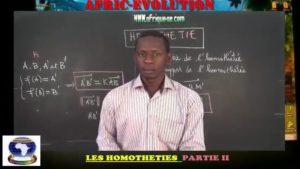 Homothetie partie ii