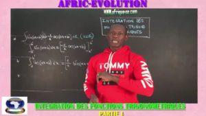 Integration des fonctions trigonometriques partie i