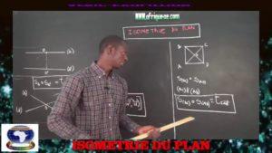 Isometrie du plan partie ii
