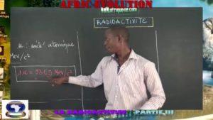 La radioactivite partie iii