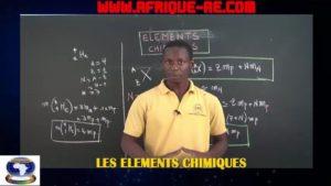 Les elements chimiques