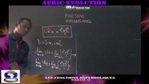 Les fonctions hyperboliques partie ii