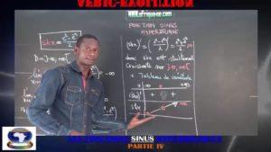 Les fonctions sinus hyperboliques partie iv