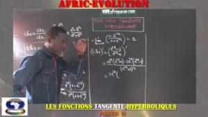 Les fonctions tangente hyperboliques partie ii