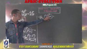 Les fonctions tangente hyperboliques partie i