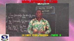 Les limites d'une fonction partie iii
