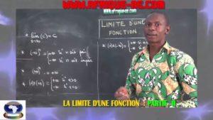 Les limites d'une fonction partie ii