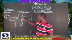 Les structures repetitives partie ii