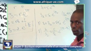 Maths 2 ecriture expo