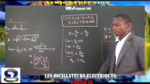 Oscillateurs electriques partie ix