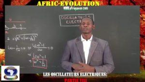 Oscillateurs electriques partie viii