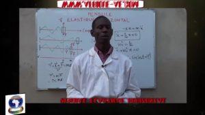 Pendule elastique horizontal partie ii