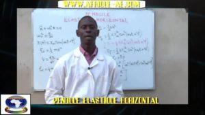 Pendule elastique horizontal partie i