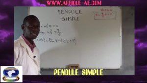 Pendule simple