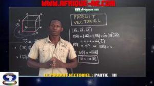 Produit vectoriel partie iii