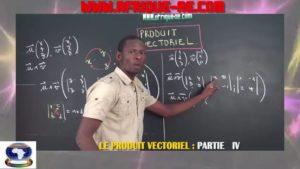 Produit vectoriel partie iv