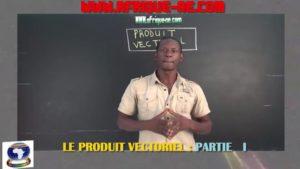 Produit vectoriel partie i