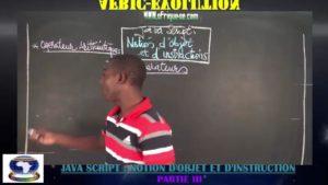 Programmation en java script  notion d'objet partie iii