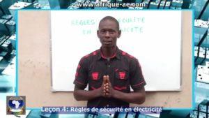 Regles de securite en electricite