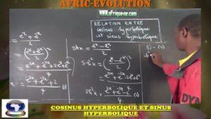 Relation entre cosinus hyperbolique et sinus hyperbolique