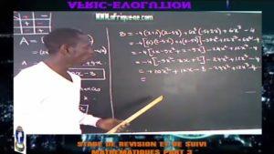 Stage de revision et de suivi du 28'12'2017 maths part 3