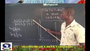 Statistique a deux variables partie iii