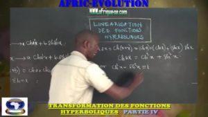 Transformation produit en somme des fonctions hyperboliques partie iv