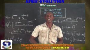 Transformation produit en somme des fonctions hyperboliques partie vii