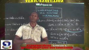 Transformation produit en somme des fonctions hyperboliques partie v